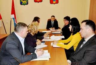Глава администрации УГО провел первый в этом году прием граждан по личным вопросам
