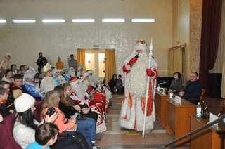 Всероссийский Дед Мороз посетил Уссурийск