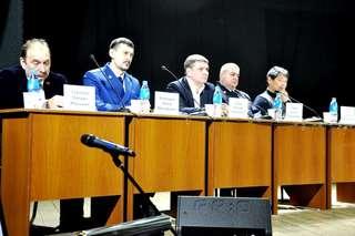 Встречу с жителями поселка Тимирязевский и станции Лимичевка глава администрации провел 14 февраля