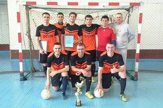 Команда «Шахтер-СУЭК» победила в чемпионате Уссурийска по мини-футболу