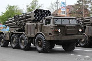 В параде Победы в Уссурийске будет задействовано 30 единиц военной техники