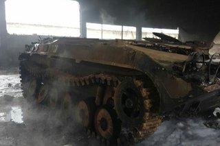 Военные прокомментировали пожар в одной из частей Уссурийского гарнизона