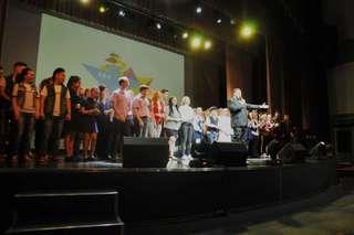 Краевой фестиваль школьной лиги КВН отгремел в Уссурийске