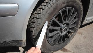 Жительница Уссурийска повредила колеса авто своего бывшего возлюбленного