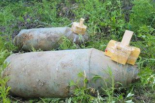 В Уссурийске нашли 500-килограммовые бомбы