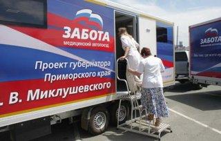 Около 1000 жителей отдаленных сел УГО прошли обследование у специалистов автопоезда «Забота»