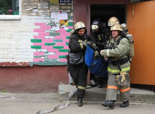 В Уссурийске «ликвидировали» взрыв бытового газа в жилом доме