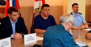 Губернатор Приморья Владимир Миклушевский побывал в Уссурийске с рабочим визитом