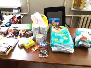 Гуманитарная помощь для пострадавших от навонения поступает от жителей округа