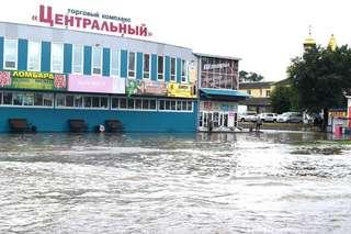 Паводок в Уссурийске пошёл на спад
