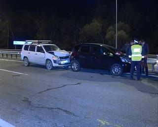 Уходя от столкновения, водитель устроил ДТП на трассе Владивосток-Уссурийск