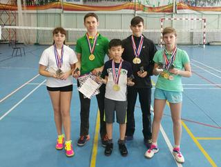 Уссурийские спортсмены отличились на соревнованиях по бадминтону в Благовещенске