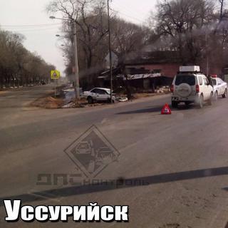 Серьёзная авария произошла в Уссурийске