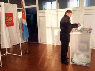 102 избирательных участка открылись ровно в восемь часов утра в Уссурийском городском округе
