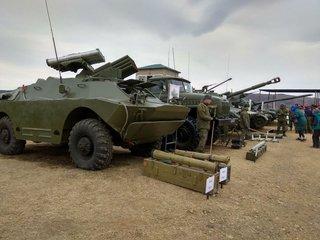 Начались окружные этапы конкурсов «Танковый биатлон» и «Суворовский натиск» в Приморье
