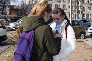 Акция «Георгиевская ленточка» стартовала в Уссурийске