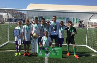 Мальчишки из Уссурийска стали чемпионами России по футболу