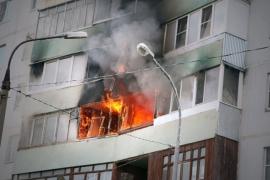 Огнеборцы Уссурийска потушили квартиру на улице Октябрьская
