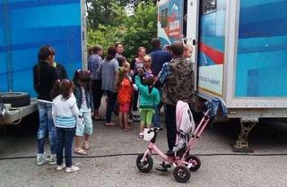 Детский автопоезд «Забота» принимает маленьких пациентов в отдаленных селах УГО