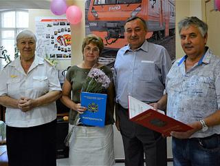 Награды краевого парламента получили ветераны-железнодорожники из Уссурийска