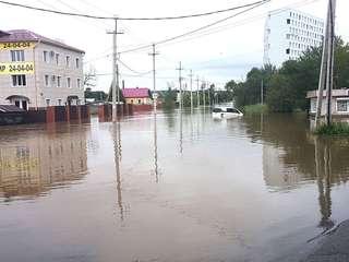 Более 160 домов подтоплены в Уссурийске