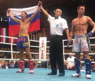 Кикбоксер из Уссурийска Александр Захаров второй раз стал чемпионом Европы