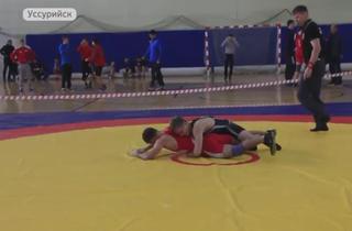 В Уссурийске прошел мастерский турнир по греко-римской борьбе