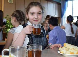 С 1 декабря вдвое увеличено финансирование на школьное питание