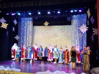 Самых творческих Деда Мороза и Снегурочку выбрали в Уссурийске