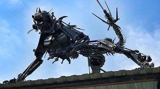 Необычная скульптура замечена в Уссурийске