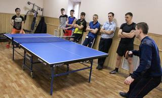 В Уссурийске «Студенческий десант» принял участие в матче престижа по настольному теннису