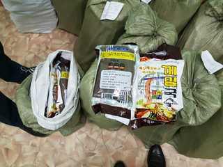 Более 660 кг лапши задержали уссурийские таможенники