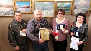 Ветеранская организация транспортной полиции Уссурийска получила награду из Москвы