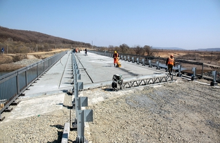Новый мост в село Кроуновка готов к асфальтированию