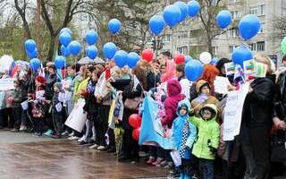 В Уссурийске прошли мероприятия, посвященные празднику Весны и Труда