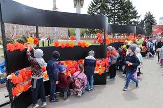 Более 500 уссурийских ребят приняли участие в патриотических акциях, приуроченных ко Дню Победы