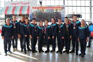 Уссурийские школьники вернулись с Всероссийских сборов «Союз-2019 – Наследники Победы»