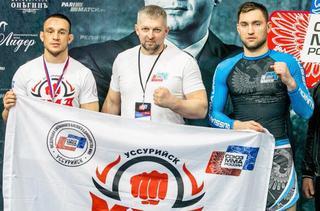 Уссурийцы заняли призовые места на чемпионате России по ММА