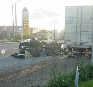 В Приморье водитель погиб в страшном ДТП