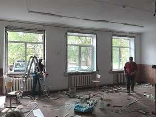 В детских садах и школах Уссурийска продолжается капитальный ремонт