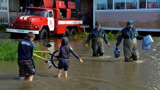 Спасатели выдвинулись в районы Приморья, где ждут тайфун