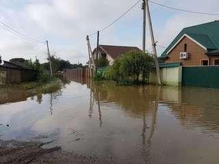 В реках Уссурийского городского округа наблюдается спад воды