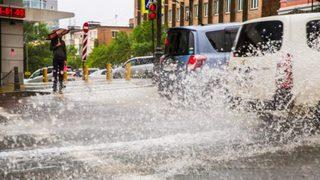 В Уссурийске ливень затопил несколько районов города