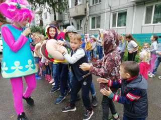 Праздники дворов в честь Дня города прошли в Уссурийском городском округе