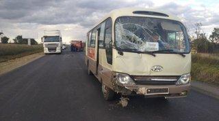Тройное ДТП с участием пассажирского автобуса произошло в Уссурийск