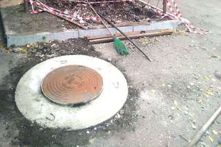 Работы, включенные в контракт по содержанию сетей ливневой канализации в Уссурийске, выполнены на 75 %
