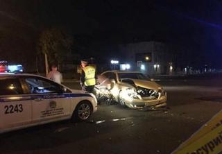 Ночью в Уссурийске произошло жёсткое ДТП