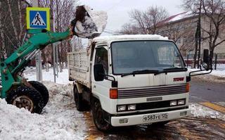 Коммунальные службы Уссурийского городского округа продолжают борьбу с выпавшими осадками