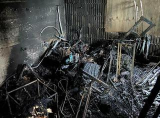 В Уссурийске пожарные потушили двухэтажный коттедж