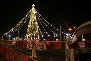 Зимний городок на центральной площади Уссурийска откроется завтра, 25 декабря